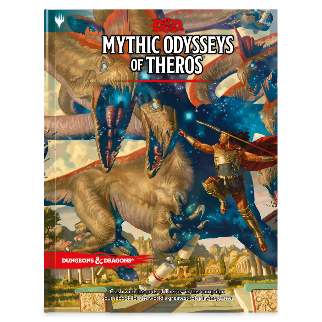 Dungeons & Dragons Mythic Odysseys of Theros (D&D Campaign Setting and Adventure Book) Hardcover