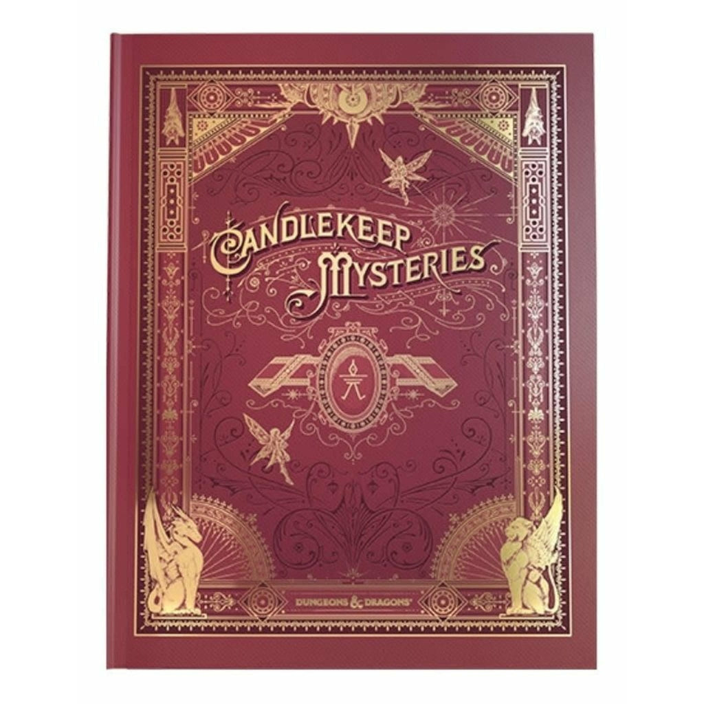 Dungeons and Dragons RPG: Candlekeep Mysteries Hard Alternate Cover
