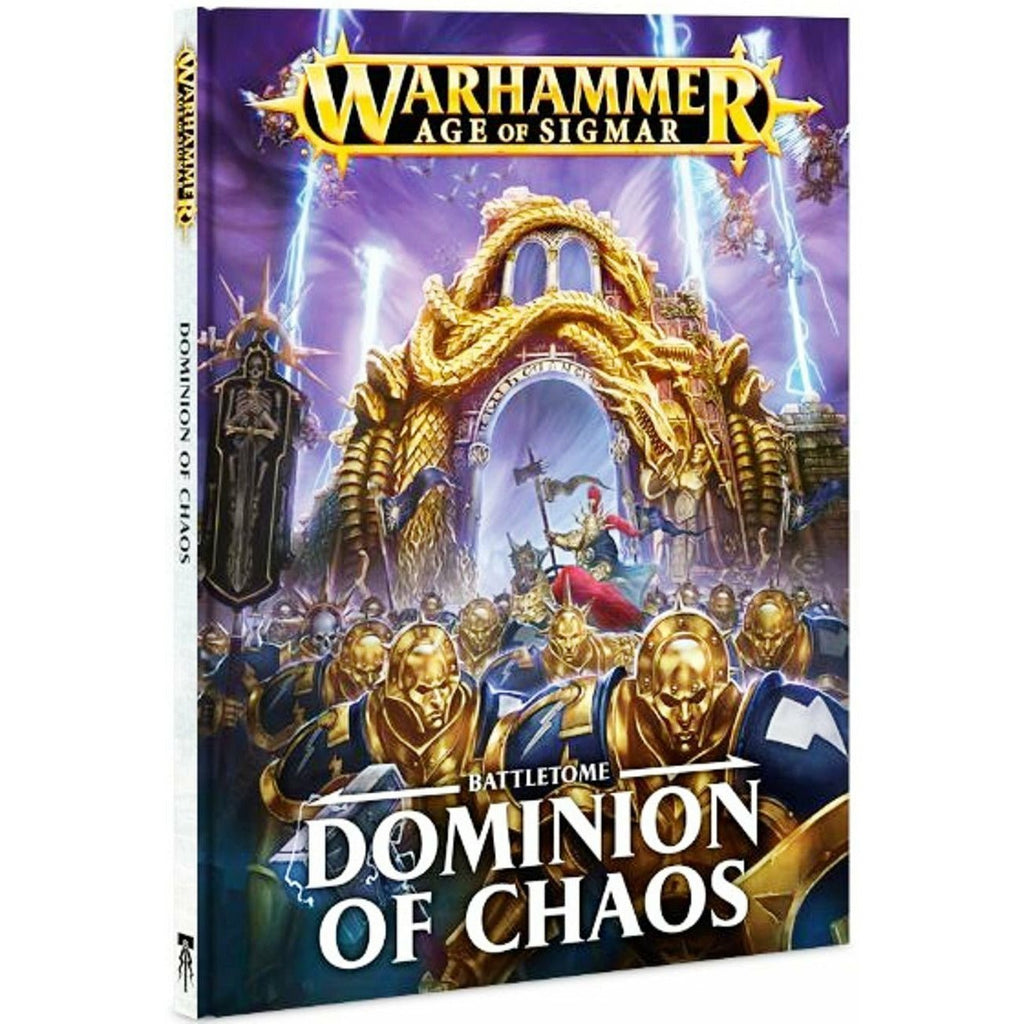 Warhammer Age of Sigmar Battletome Dominion of Chaos