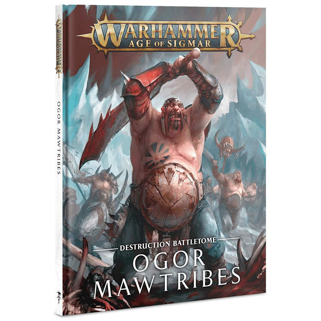 Warhammer Games Workshop Age of Sigmar: Battletome: Ogor Mawtribes