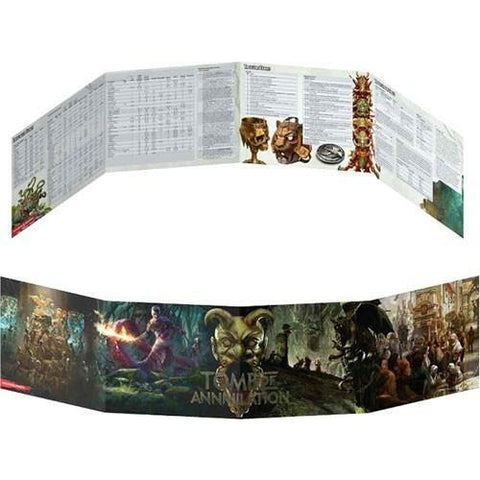 D&D Dungeon Master's Screen (Tomb of Annihilation)