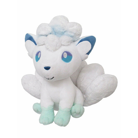 "Sanei Pokemon All Star Collection PP61 Alola / Alolan Vulpix 7"" Stuffed Plush"