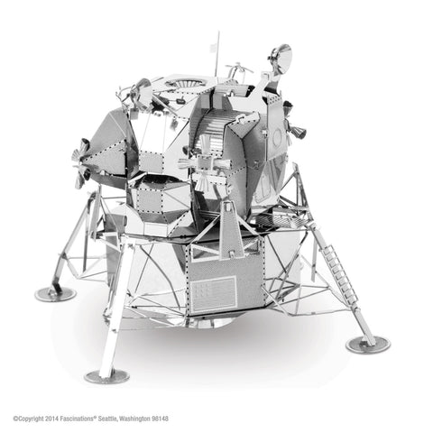 Fascinations Metal Earth 3D Laser Cut Model - Apollo Lunar Module - Galactic Toys & Collectibles - 1