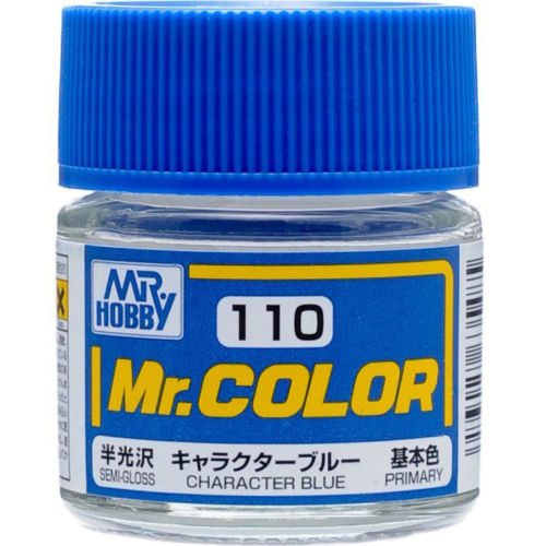 GSI Creos MR. Hobby Mr Color C110 Character Blue 10mL Primary Semi-Gloss Paint