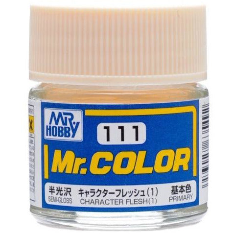 GSI Creos MR. Hobby Mr Color C111 Character Flesh 1 10mL Primary Semi-Gloss Paint