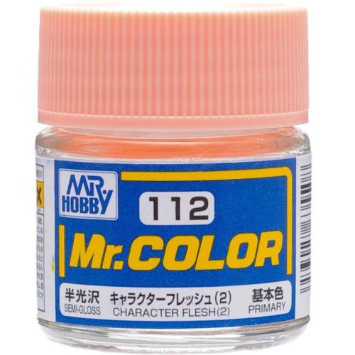 GSI Creos MR. Hobby Mr Color C112 Character Flesh 2 10mL Primary Semi-Gloss Paint
