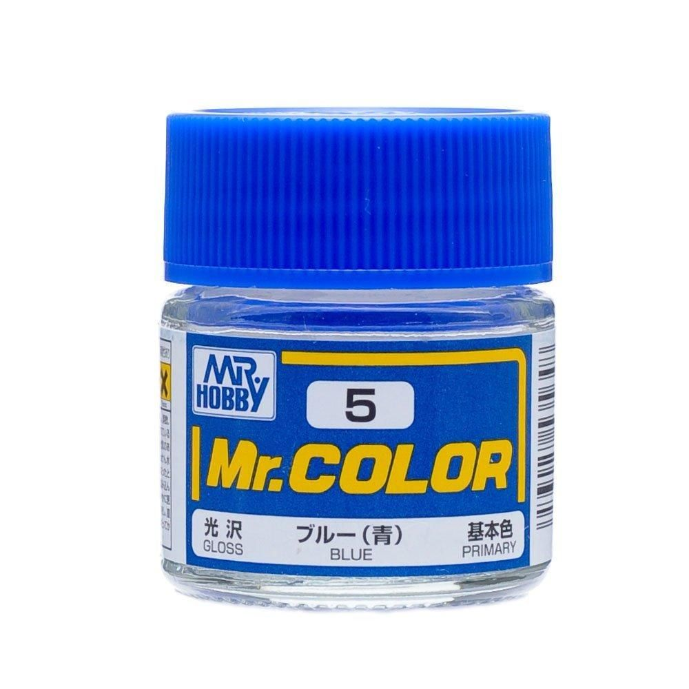 GSI Creos MR. Hobby Mr Color C5 Gloss Blue 10mL Primary Paint