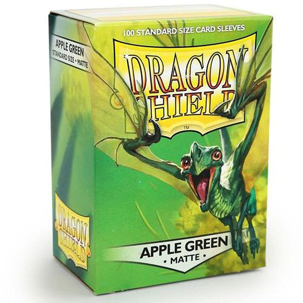 Dragon Shield Matte Green Apple 100 Protective Sleeves