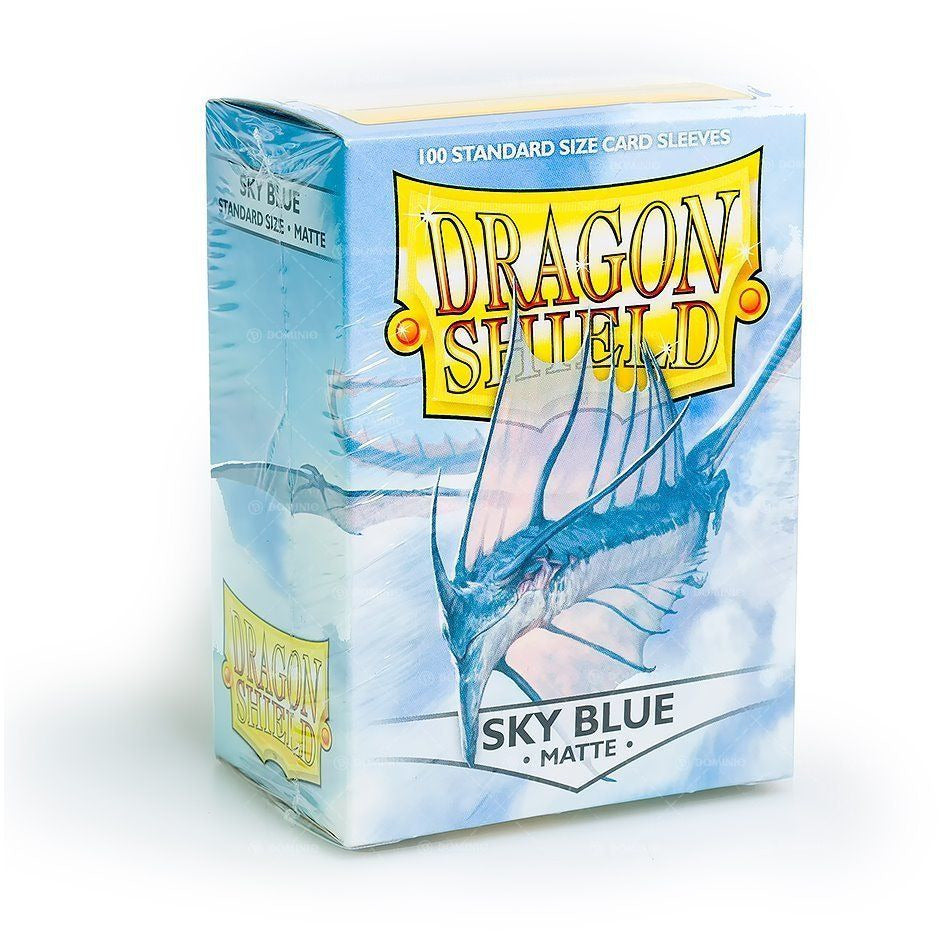 Dragon Shield Matte Sky Blue 100 Protective Sleeves