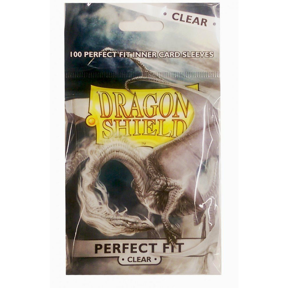Dragon Shield Perfect Fit Sleeves Clear Standard (100 Piece)