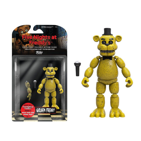 Funko Action Figure: Five Nights at Freddy's - Golden Freddy - Galactic Toys & Collectibles - 1