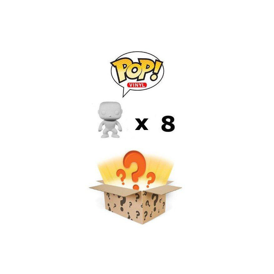 Funko Pop Mystery Box: Damaged/Overstock Vinyl Figures 8-Pack