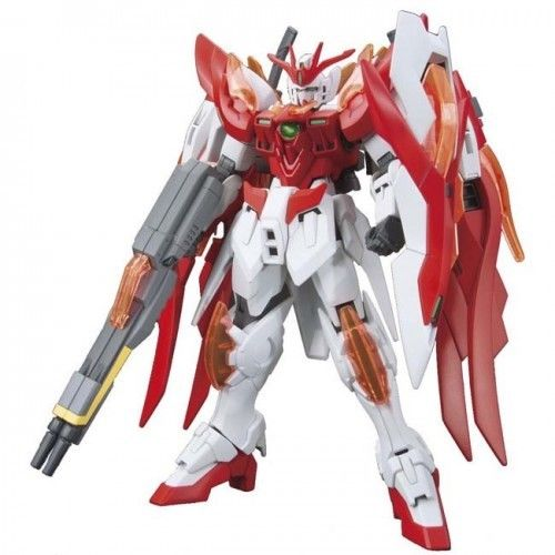 Bandai Hobby Build Fighters HGBF Wing Gundam Zero Flame Honoo HG 1/144 Model Kit