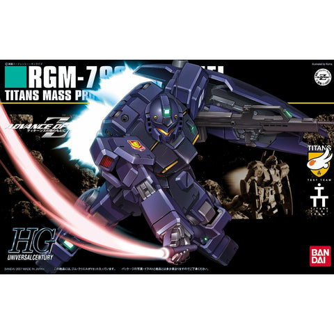 Bandai Hobby HGUC Gundam RGM-79Q GM Quell HG 1/144 Model Kit