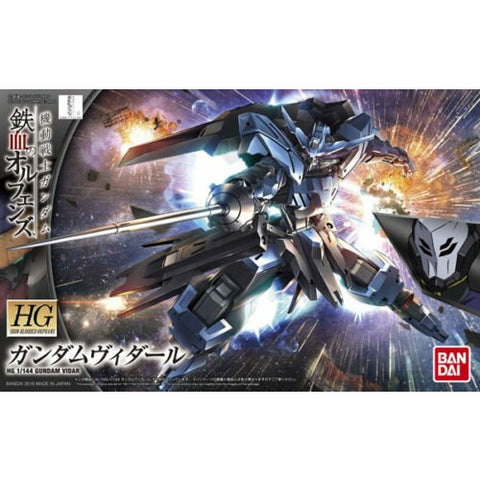 Bandai Hobby Iron-Blooded Orphans IBO Season 2 Gundam Vidar HG 1/144 Model Kit - Galactic Toys & Collectibles - 1