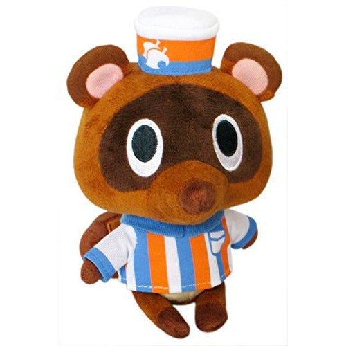 "Little Buddy Animal Crossing New Leaf Timmy Convenience Store Clerk 5.5"" Plush"