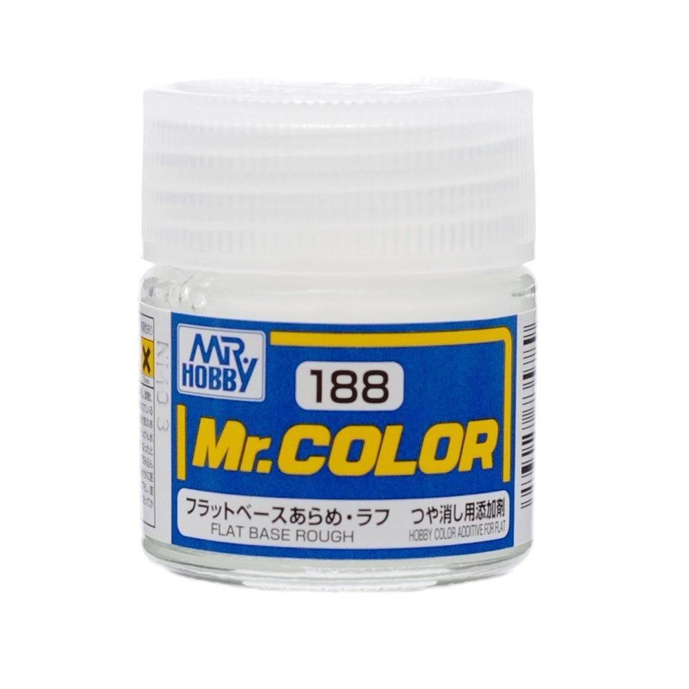 GSI Creos MR. Hobby MR. Color C188 Flat Base Rough Paint 10mL for Plastic Models and Craft Hobby