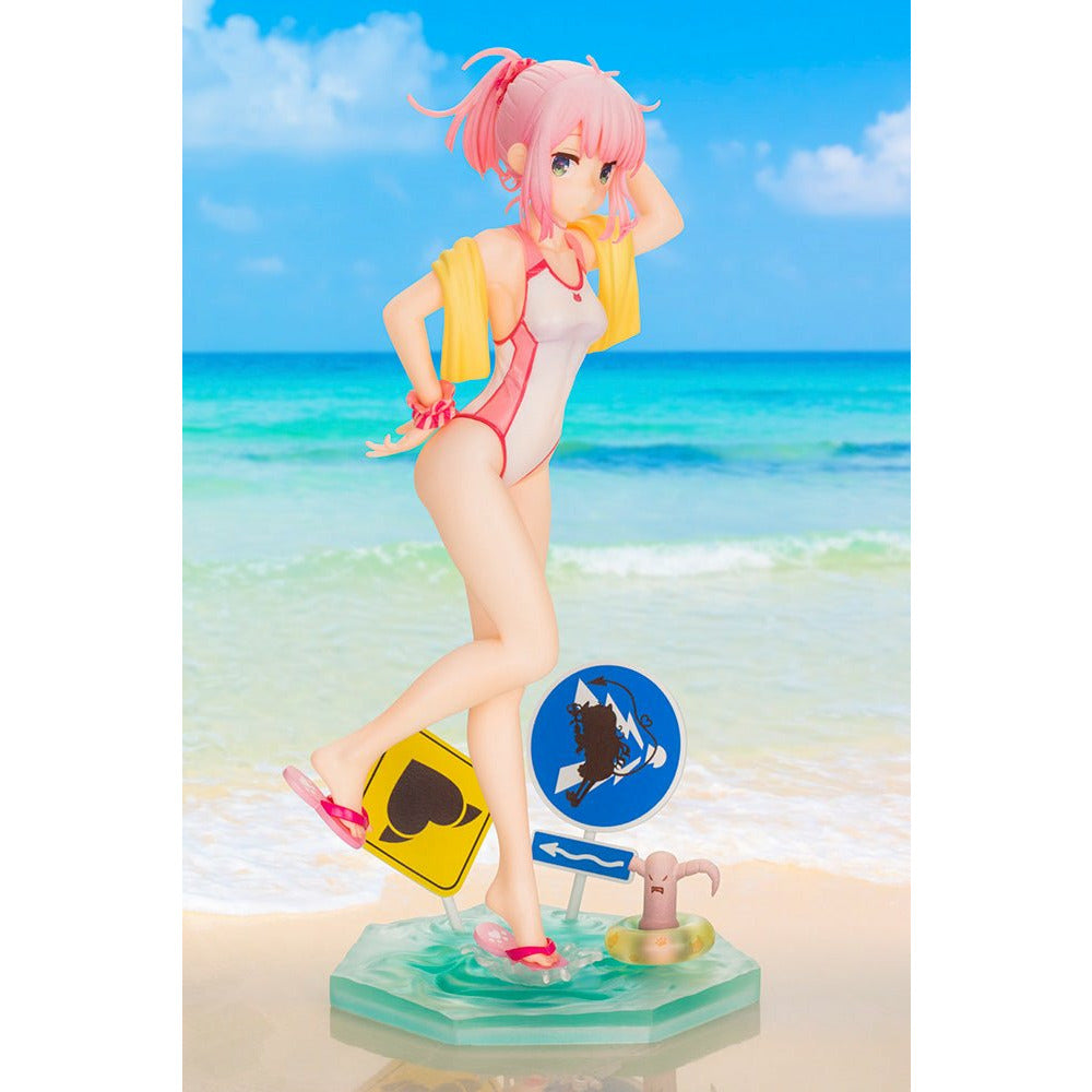(PRE-ORDER: Expected September 2021) Kotobukiya The Demon Girl Next Door Momo Chiyoda Swimsuit Ver. 1/7 Scale Figure Statue