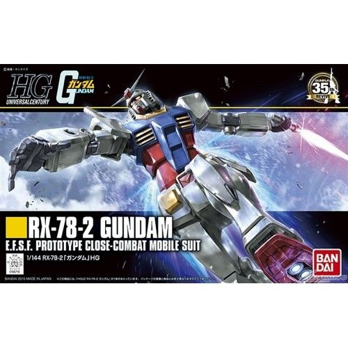 Bandai Hobby HGUC Mobile Suit Gundam RX-78-2 Revive HG 1/144 Model Kit