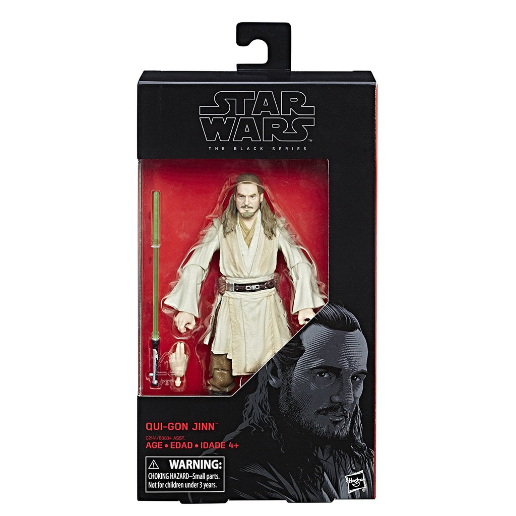 Star Wars: Episode I The Black Series Qui-Gon Jinn, 6-inch