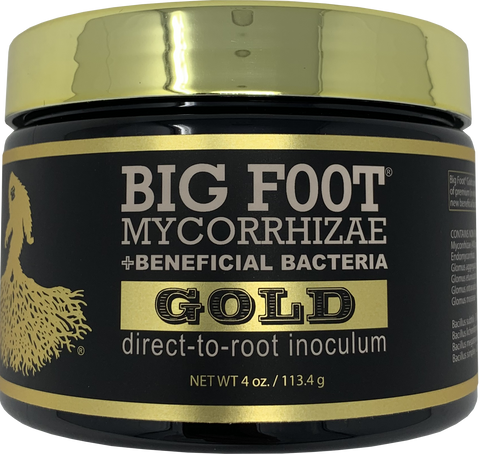 Big Foot GOLD Mycorrhizae direct to root inoculum 4 oz.