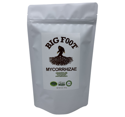 Big Foot Granular Mycorrhizae 4 oz. & 2 lbs. & 10 lbs.