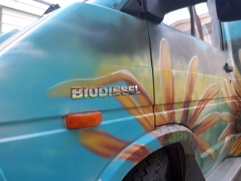 BIODIESEL EASY TO APPLY CHROME Emblem