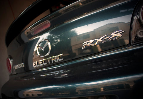 ELECTRIC Easy to apply Car Emblem