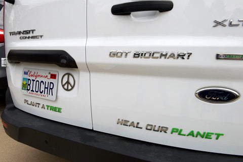 Blue Sky Biochar - GOT BIOCHAR? Chrome Vehicle Emblem