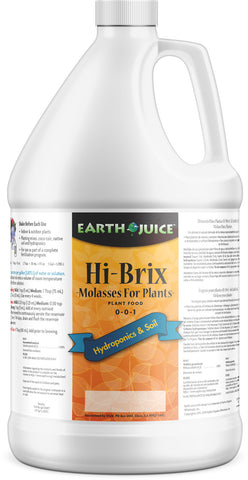 Earth Juice Hi- Brix Molasses 1 gallon