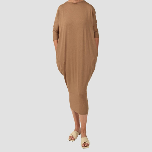 ROYCE LYON DRESS Camel