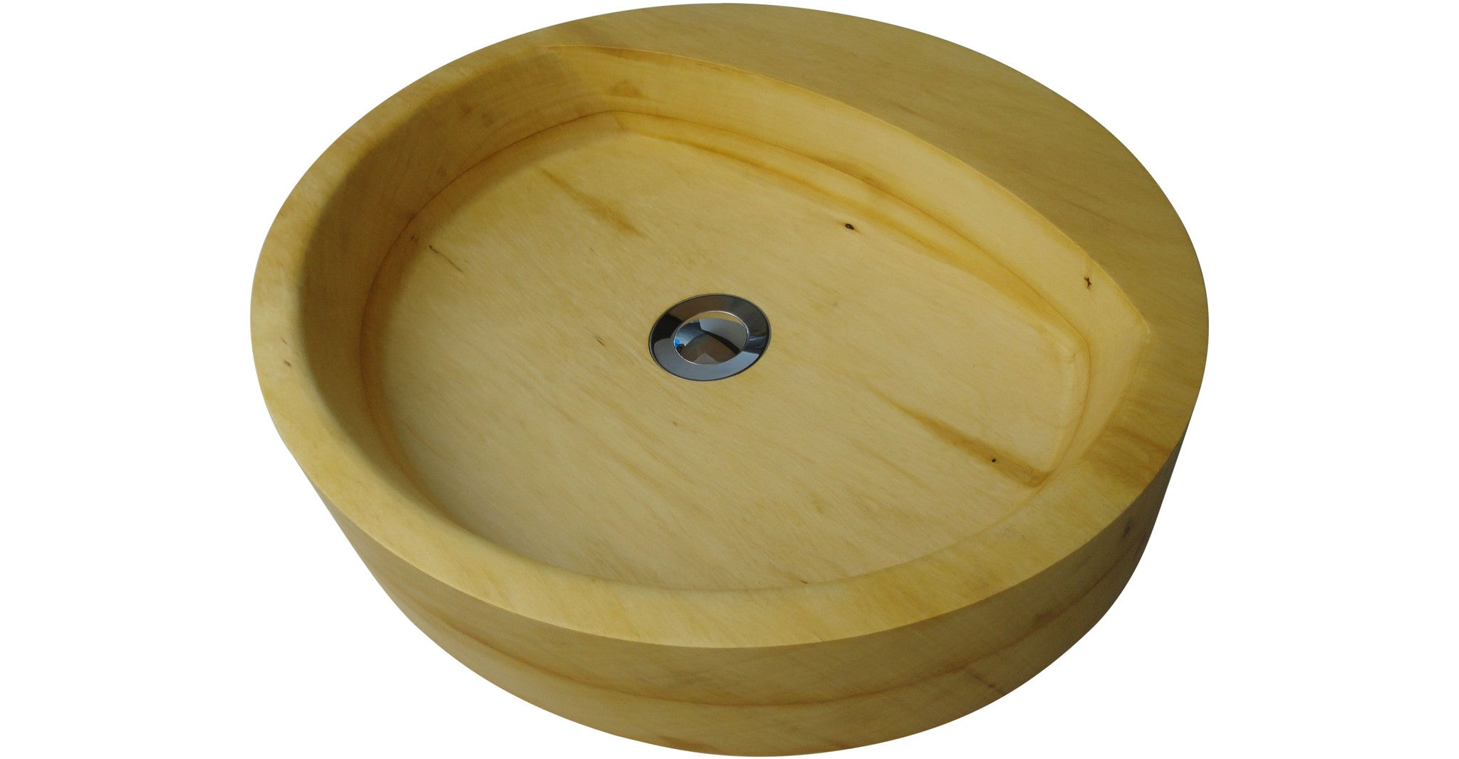 "New Bathroom Basin: The ""Round"" in Huon Pine..."