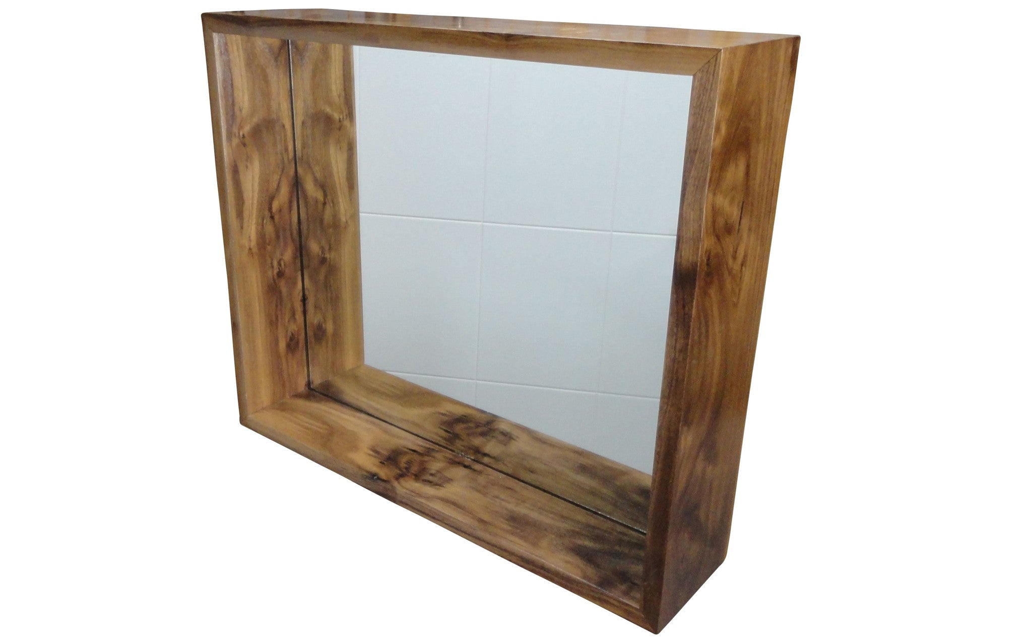 Timber Bathroom Accessories Eco Friendly Box Mirror Cabinet In Solid Timber Bathroom