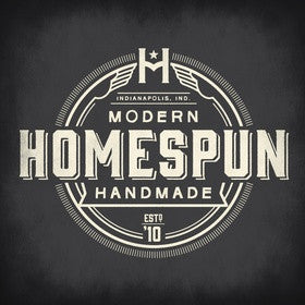 We are now in Homespun: Modern Handmade