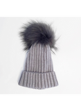 Lyla and Luxe Fur Pom Pom Hat