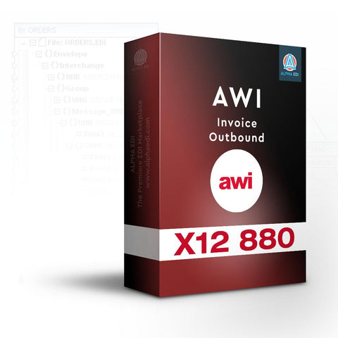 AWI 880 - Invoice Outbound for Infor VISUAL