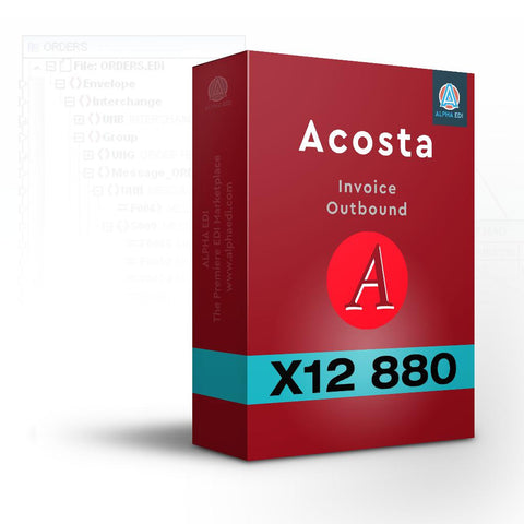 Acosta 880 - Invoice Outbound for Infor VISUAL