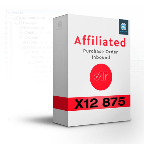 Affiliated 875 - Purchase Order Inbound for Infor VISUAL