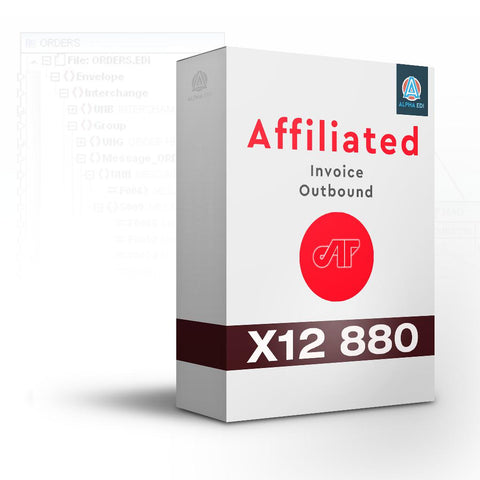 Affiliated Foods 880 - Invoice Outbound for Infor VISUAL