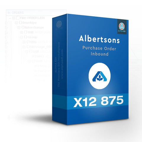 Albertsons 875 - Purchase Order Inbound for Infor VISUAL