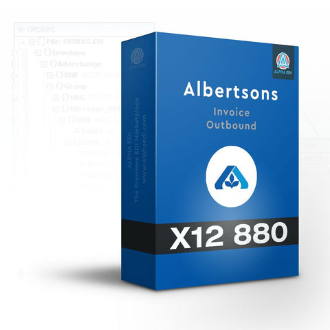 Albertsons 880 - Invoice Outbound for Infor VISUAL