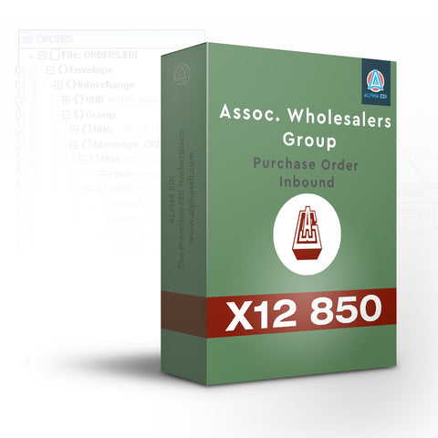Associated Wholesale Grocers 850 Inbound Pack for Infor VISUAL