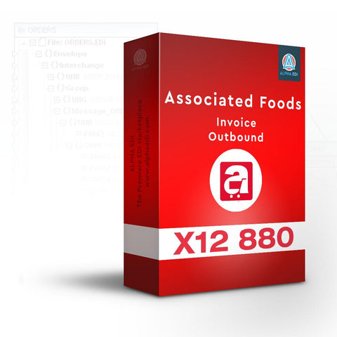 Associated Foods 880 - Invoice Outbound for Infor VISUAL