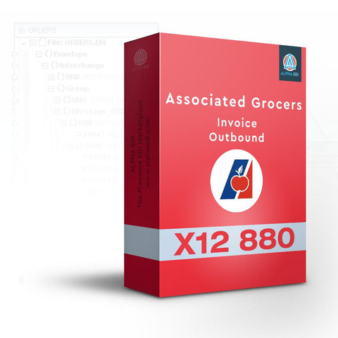 Associated Grocers 880 - Invoice Outbound for Infor VISUAL