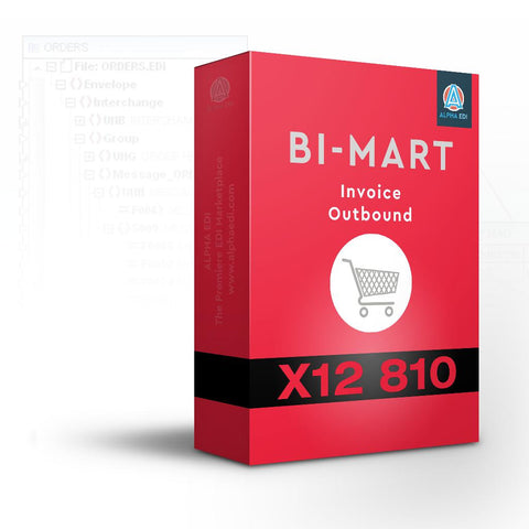 Bi Mart 810 - Invoice Outbound for Infor VISUAL