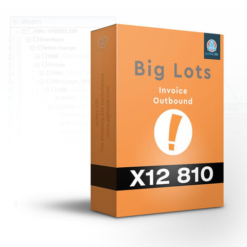 Big Lots 810 - Invoice Outbound for Infor VISUAL