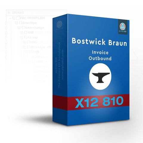 Bostwick Braun 810 - Invoice Outbound for Infor VISUAL