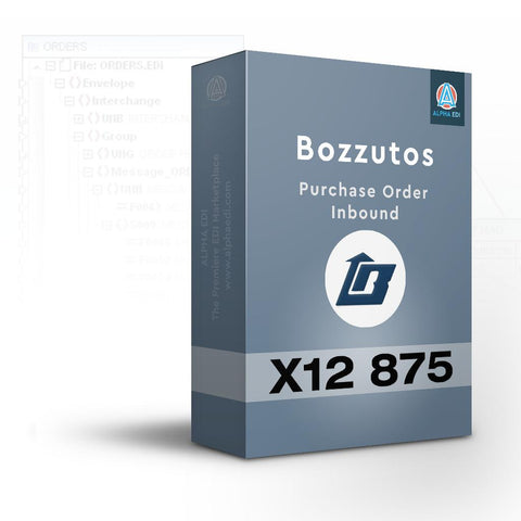 Bozzutos 875 - Purchase Order Inbound for Infor VISUAL