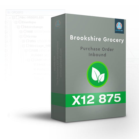 Brookshire 875 - Purchase Order Inbound for Infor VISUAL