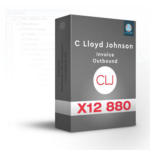 C Lloyd Johnson 880 - Invoice Outbound for Infor VISUAL